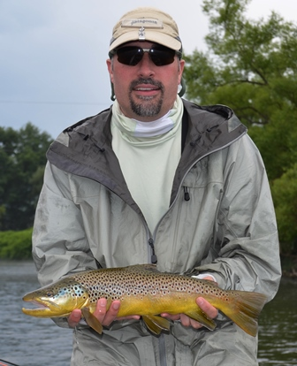 Allen with a really nice brown yesterday