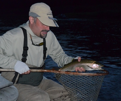 Allen with a nice rainbow from yesterday