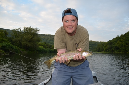 Theo with his second good rainbow from yesterday