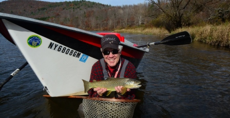 Bob with a Mainstem brown on November 4th