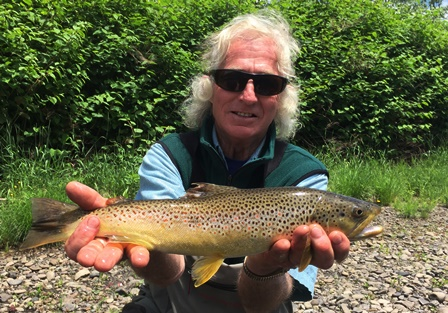 Dennis makes the blog again- this time with a nice brown.  Photo by Steve Shen