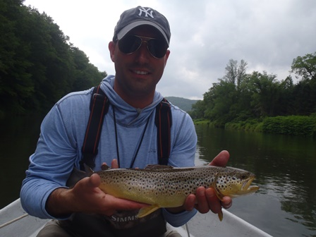 Keith found a nice brown yesterday.  Photo by Bruce MIller