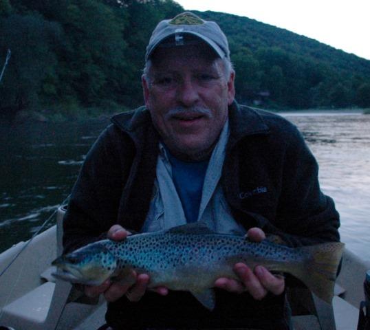 Delaware river report conditions september 5 2016 for Lake wallenpaupack fishing report