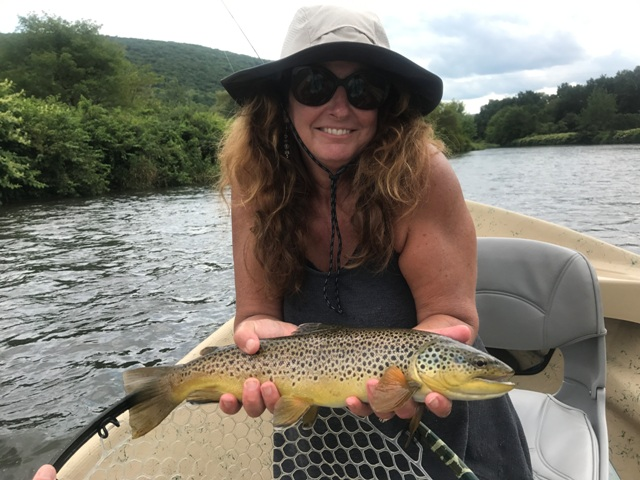Les Hughes sent us this picture of Anne from the weekend.  Awesome fish!