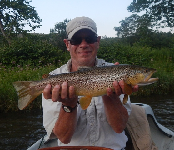Ed with a West Branch Iso eater yesterday