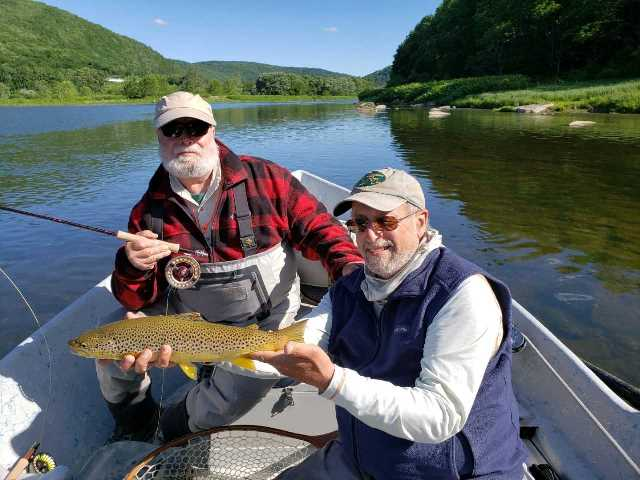 Richard Franklin found a nice fish with Bruce Miller yesterday.  Tamar Franklin photo