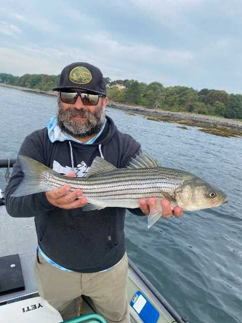 Chris Calabrese took a few days off from the Delaware and it payed off