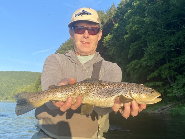 Bob with a good fish yesterday.  Steve Shen photo