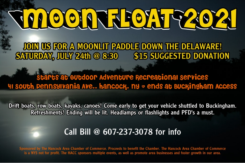 Moon floats are always a good time!