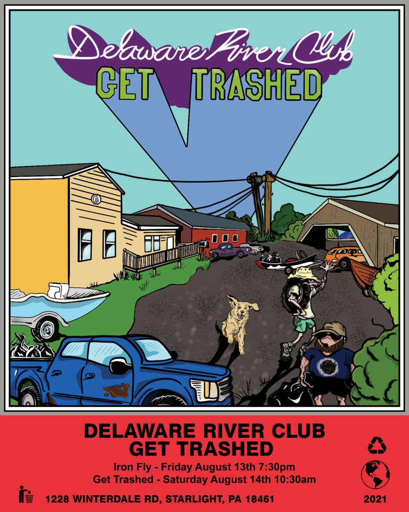The river cleanup is back for the 5th year.  August 14th.