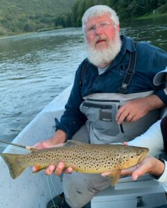 Tom and Bruce Miller found a good fish yesterday